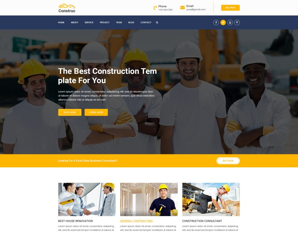 Construction 121
