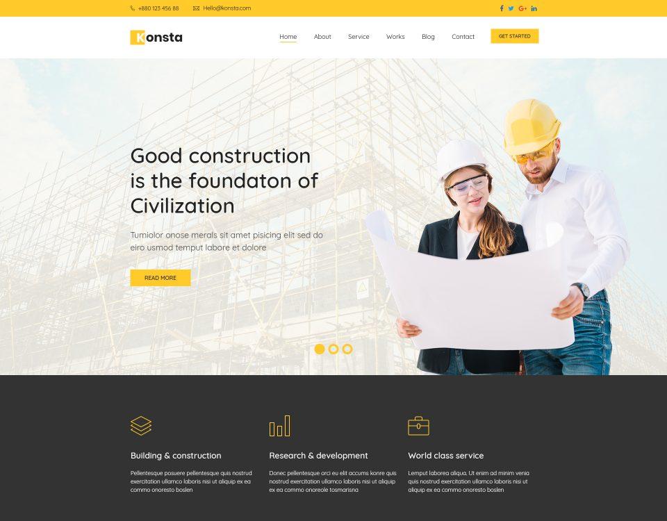 Construction 135