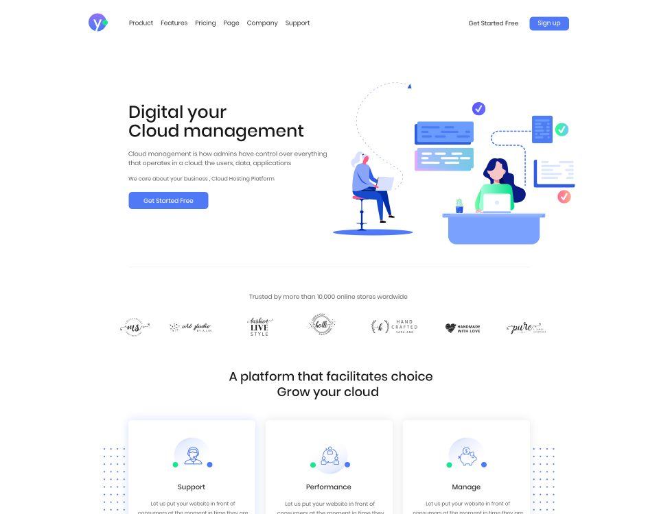 Finance Website 58