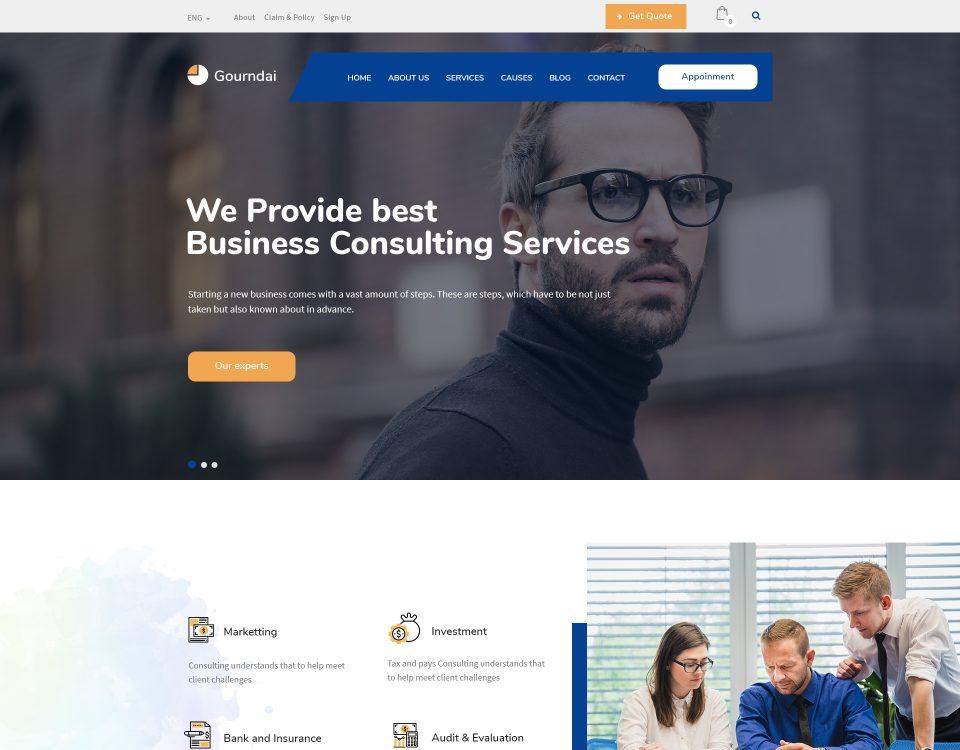 Finance Website 80
